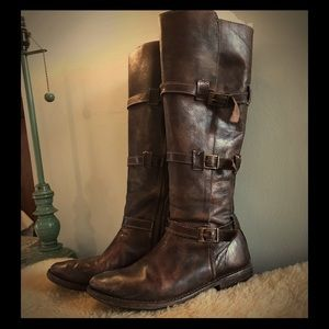Bed Stu butter soft knee high boots